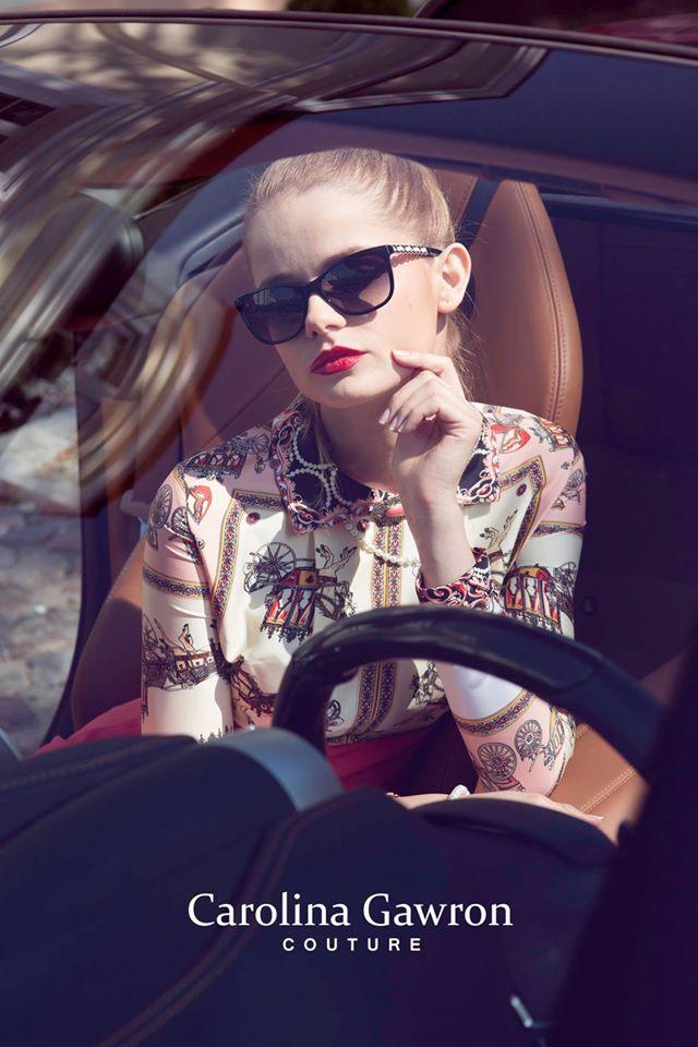 Zdjęcie z sesji Carolina Gawron couture