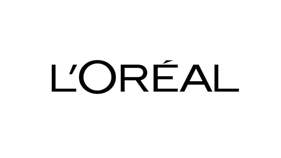 Loreal Logo produktu loreal na którym pracuję