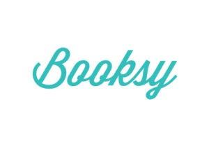 Booksy Logo platformy do umawiania wizyt