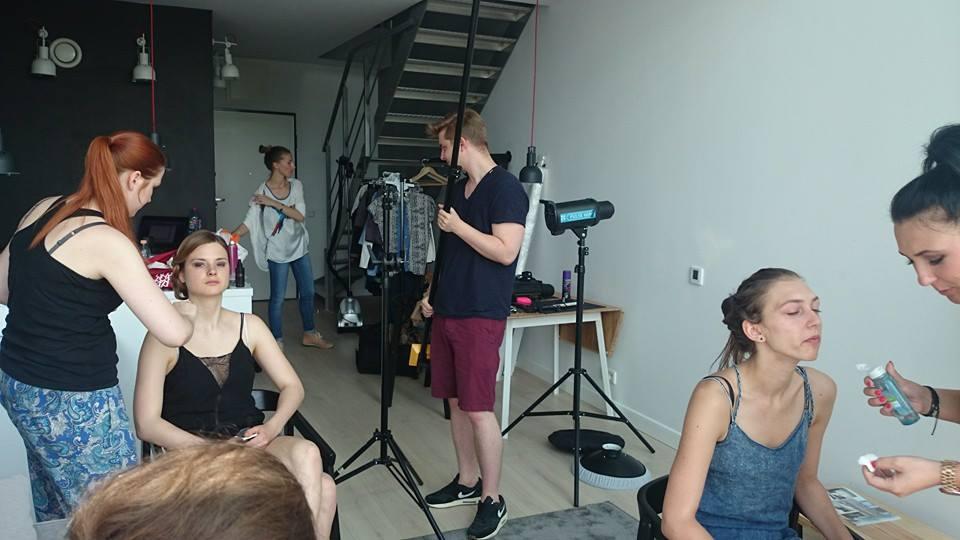 Backstage z sesji dla Evy Grygo